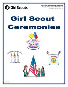 girl scout rededication ceremony snacks - Google Search