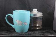 A personal favorite from my Etsy shop https://www.etsy.com/listing/486542850/elephant-ceramic-mug-etched-coffee-mug