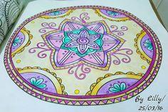 Mandalas / Mandalas naturais / Floresta encantada / jardim secreto / Mandala flor