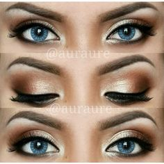 Perfect Makeup for Blue & Green Eyes