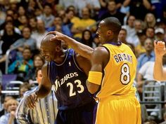 Michael Jordan and Kobe Bryant. Two of the greatest ever