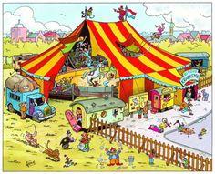 CIRCO: Una tarde o noche circo en el pueblito lo más hermoso para la infancia de una niña.