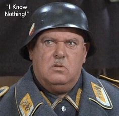 ✯I'm reminded of Sgt. Schultz today, as I listen to Jay Carney weasel his way out of questions in the most exciting press conference I've seen in at least 5 years!