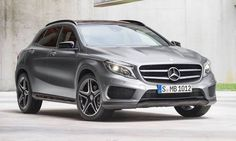 #MercedesBenz #GLA.  Un todoterreno de lujo con un diseño especialmente cuidado.