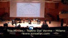 Un soundcheck di Henri Olama al Teatro Dal Verme di Milano, con il Trio Minlan