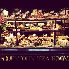 Hopetoun Tea Rooms, Melbourne VIC #australia #travel