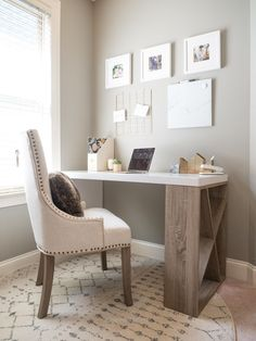 Perfect 5 ways to fit a home office in any sized space | Small space home office | Home Decor Inspiration The post 5 ways to fit a home office in any sized space | Small space home office | H ..