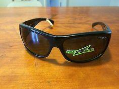 Brand New Mens Arnette Temper Black Polarized Sunglasses Made in Italy !