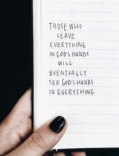 God's hand God is in control Trust God Bible Quotes, Motivational Quotes, Inspirational Quotes, Quotes About God, Quotes To Live By, Cool Words, Wise Words, Favorite Quotes, Best Quotes