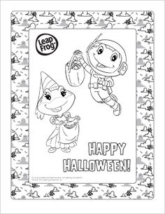 Jim Hensons Pajanimals Halloween Coloring Page