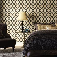 Highbury Geometric Wallpaper - Geometric Wall Coverings by Graham Brown