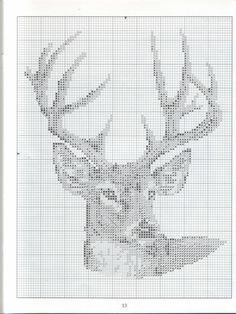Crochet Christmas Deer Cross Stitch 57 Ideas For 2019 Cross Stitch Alphabet, Cross Stitch Animals, Cross Stitch Charts, Cross Stitch Designs, Cross Stitch Patterns, Cross Stitching, Cross Stitch Embroidery, Embroidery Patterns, Crochet Coaster Pattern
