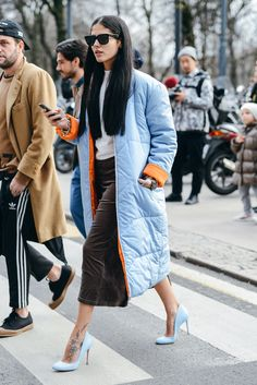 """The Year in Tommy Ton, Gilda Ambrosia, """"Gilda is a rising street-style star and one of Milan's up-and-coming stylists. We've all become hooked on her eclectic mix of streetwear, vintage, and designer duds."""""""
