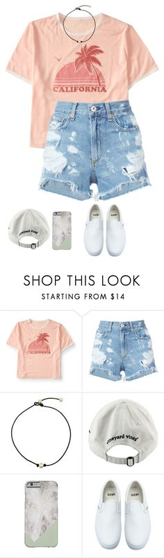 """""""I'm in North Carolina! 😋✨"""" by landing-on-the-moon ❤ liked on Polyvore featuring Aéropostale, rag & bone/JEAN, Vineyard Vines and Vans"""