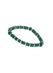 Green Sequin Stretch Bracelet