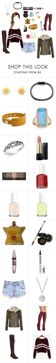 """""""Sammi McCall"""" by samtiritilli on Polyvore featuring Marie Hélène de Taillac, Cast of Vices, Ross-Simons, Lancôme, Essie, Bond No. 9, Too Faced Cosmetics, Maybelline, Bare Escentuals and Glamorous"""