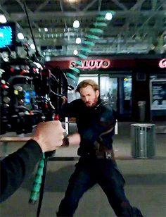 Avengers infinity war footage