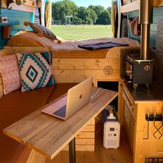Van House, Old Mercedes, New Bus, Solar Generator, Clever Design, Camper Trailers, Campervan, Motorhome, Road Trip