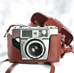 Vintage 35mm camera Agfa Optima IA with by VintageCameraClub, $59.00