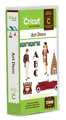 Art Deco Cricut Cartridge