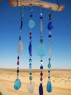 Beach Glass Suncatcher