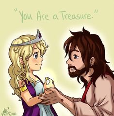 During worship this morning in Sunday morning service, I had closed my eyes and imagined myself with Jesus (as I was instructed to do by Pastor Bill). As I stood there, we were asked to talk to Jes. Jesus Loves You, God Loves Me, Christian Artwork, Christian Quotes, Jesus Cartoon, Jesus Artwork, Gods Princess, Bride Of Christ, Jesus Pictures