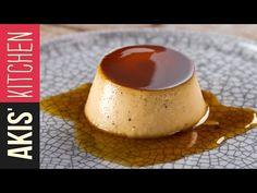 cream caramel by Akis Petretzikis! Greek Sweets, Greek Desserts, Elegant Desserts, Greek Recipes, Greek Cooking, Cooking Time, Delicious Desserts, Dessert Recipes, Yummy Food