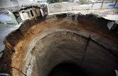 Largest Sinkhole in the World | Largest Sinkholes on Biggest Holes In The World Fortuna