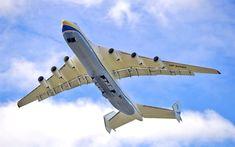 Download wallpapers AN-225, 4k, Cossack, Ukrainian aircraft, Antonov An-225 Mriya, transport aircraft, Ukraine, Antonov Airlines
