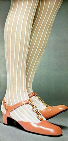 1960s stockings and shoes