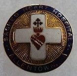 Sacred Heart Hospital School of Nursing, Allentown, PA  (One of my favourite nurses form my jr. volunteer days had this pin which I always thought was beautiful)