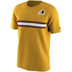 Washington Redskins Nike Gold Color Rush Stripe T-Shirt - $20.99