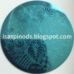 Placa BP-53 de la web http://www.bornprettystore.com/