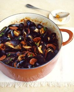 Spicy Mussels and Chorizo Recipe