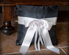 Wedding DIY: Ring Bearer Pillow