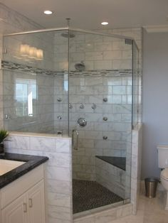 Spa shower, i like the rainfall shower head coupled with the standard head