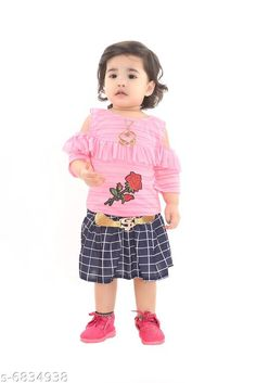 Checkout this latest Skirts Product Name: *Elegant Cotton Kids Skirt* Fabric: Cotton Pattern: Stripes Multipack: 1 Sizes:  0-1 Years, 1-2 Years (Waist Size: 10 in, Length Size: 17 in)  2-3 Years, 3-4 Years, 4-5 Years Country of Origin: India Easy Returns Available In Case Of Any Issue   Catalog Rating: ★3.8 (6443)  Catalog Name: Modern Trendy Kids Girls Skirts CatalogID_1090916 C62-SC1145 Code: 002-6834938-915
