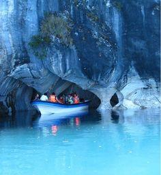 Cavernas de Mármol prehistóricos de Chile y Argentina 7