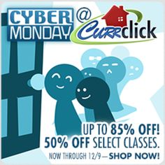 Cyber Monday at Currclick