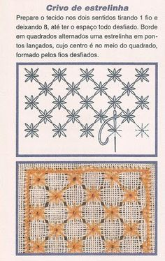 chicken scratch embroidery tutorial plus tons of other sty Embroidery Needles, Hand Embroidery Stitches, Embroidery Techniques, Cross Stitch Embroidery, Cross Stitch Patterns, Embroidery Designs, Embroidery Monogram, Ribbon Embroidery, Picot Crochet