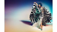 Model: Nicki Minaj Photographer: Francesco Carrozzini Francesco Carrozzini  - HarpersBAZAAR.com