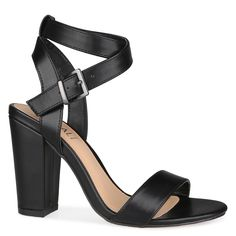 Shoe Connection - Verali - Caitlyn strappy heel with wrap-around ankle strap in black. $99.99 https://www.shoeconnection.co.nz/womens/heels/high-heels/verali-caitlyn-strappy-heel?c=Black