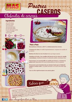 Clafoutis de cerezas, ¡un postre delicioso! #Receta #InfoReceta
