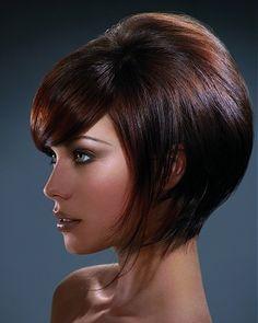 Short hair style. love it!