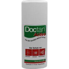DOCTAN Spray:   Packungsinhalt: 100 ml Spray PZN: 06559955 Hersteller: DoubleHill GmbH Preis: 7,38 EUR inkl. 19 % MwSt. zzgl.…
