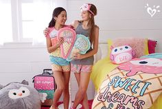 We owl scream for sweet sleepover style!