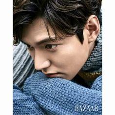 Handsome Lee Min Ho posed for Bazaar ...