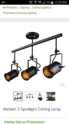 Nueva Negro Industrial Loft Luces Pendientes L 225 Mpara Led