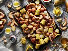 Slow Cooker Shrimp Boil   For a classic summery meal without a fuss, look no further than this slow cooker shrimp boil. With a simple ingredient list and a largely hands-off cooking method, this easy seafood boil is a perfect recipe to plan on for casual warm weather entertaining or even as a low-effort meal to make at the rental house during a beach vacation. We opted to pull the corn out after 30 minutes of cooking as we preferred it on the crisp side, but as long as your slow cooker is…