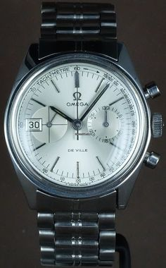 Omega De Ville Chronograph 146.017 Cal.930 for price on request for sale from a Trusted Seller on Chrono24